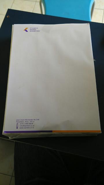 Buat Kop Surat Untuk PT