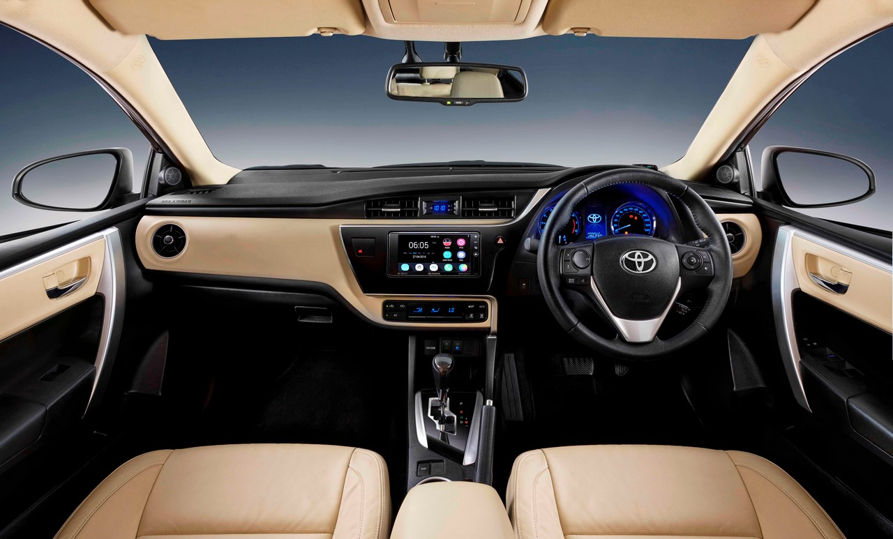 The 2017 toyota corolla petrol is powered by the 2zr fe 1 8 litre dual vvt i four cylinder petrol unit that produces 140 ps at 6 400 rpm and 173 nm of