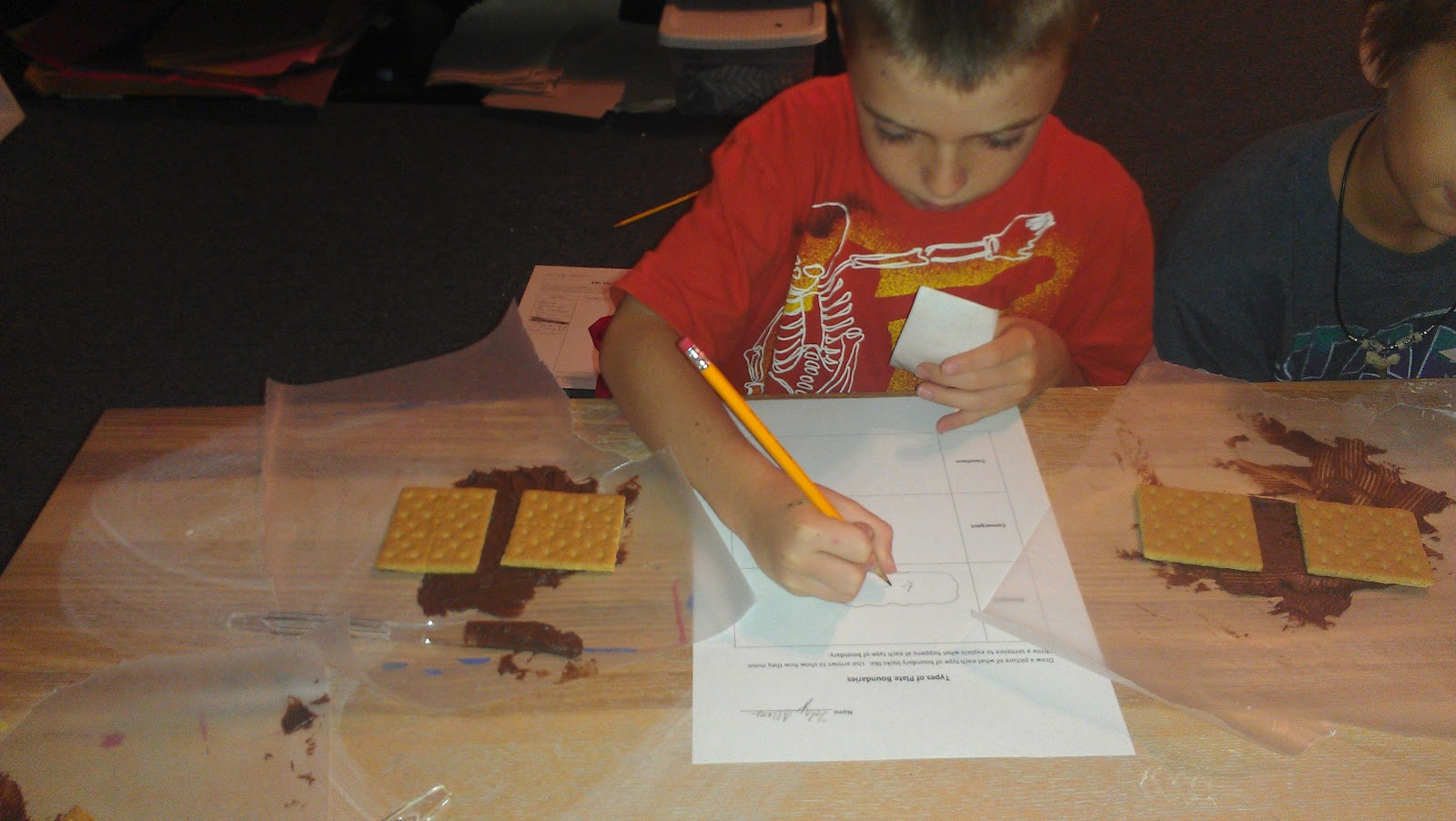 Jessica S Science Education Blog Modeling Plate Tectonics Lesson Reflection