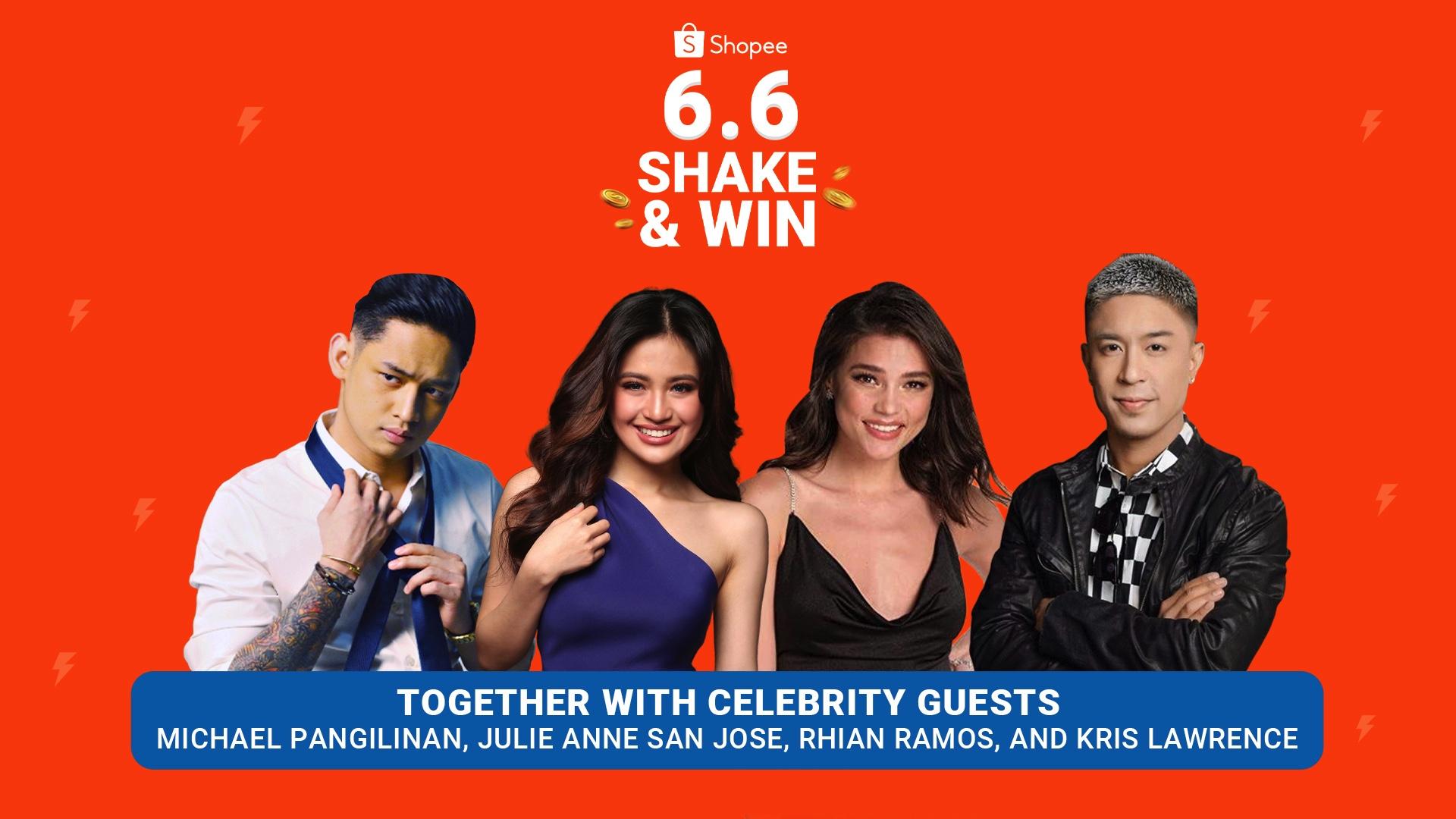 Shopee 6.6 Shake & Win