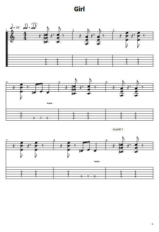 Girl Tabs Anouk. How To Play Girl On Guitar/Anouk Girl Free Tabs / Anouk Girl Sheet Music. Anouk - Girl Chords