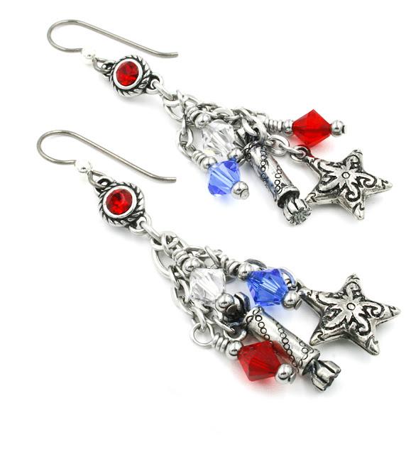 firecracker earrings 4th of july