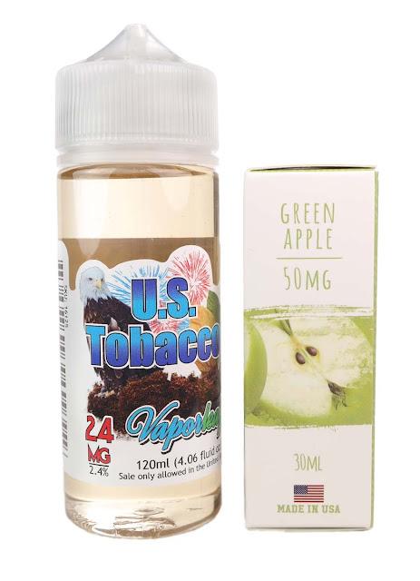 24mg Freebase and 50mg Nicotine Salt Vape Juice