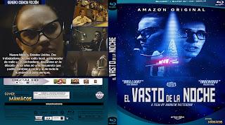 CARATULA EL VASTO DE LA NOCHE - THE VAST OF NIGHT 2019[COVER BLU-RAY]
