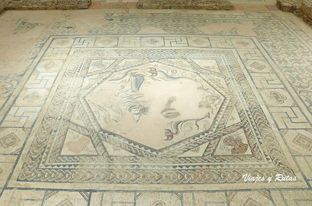 Villa romana de La Tejada, Palencia