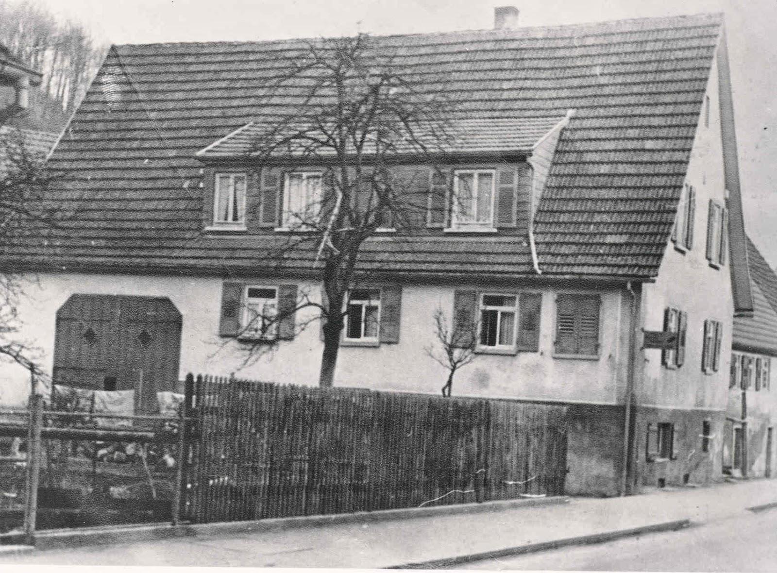 gv lichtenstein ehemaliges wohngeb ude heinrich reiff friedrich list stra e erbaut 1720. Black Bedroom Furniture Sets. Home Design Ideas
