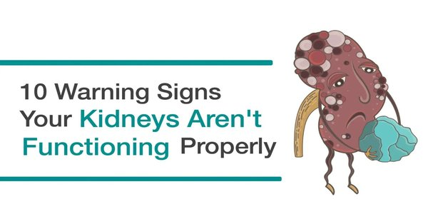 10 Warning Signs Your Kidneys Aren't Functioning Properly