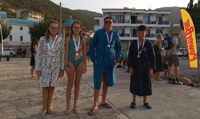 """2 πρώτες και 2 δεύτερες θέσεις για τον Ναυτικό Όμιλο Ναυπλίου στο """"Tyros swim 2021"""""""