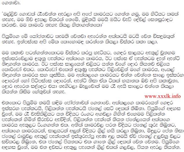 Mage wife 1 sinhala wela katha and wala katha stories sinhala wal