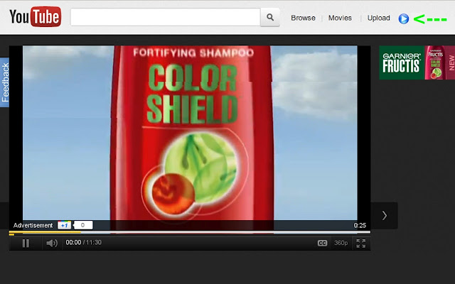 Chrome Extension to Watch Ads free Videos on YouTube