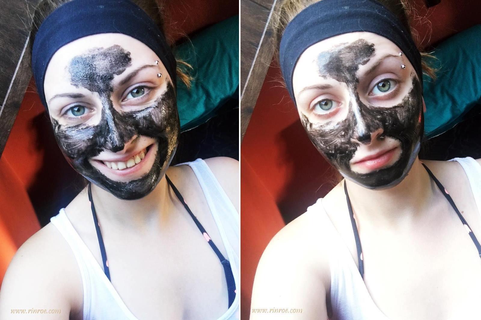 Maska węglowa na pory z AliExpress
