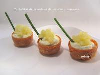 Tartaletas de Brandada de Bacalao con manzana
