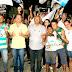 Caravana de Tito é recebida no Ribeirão numa grande festa