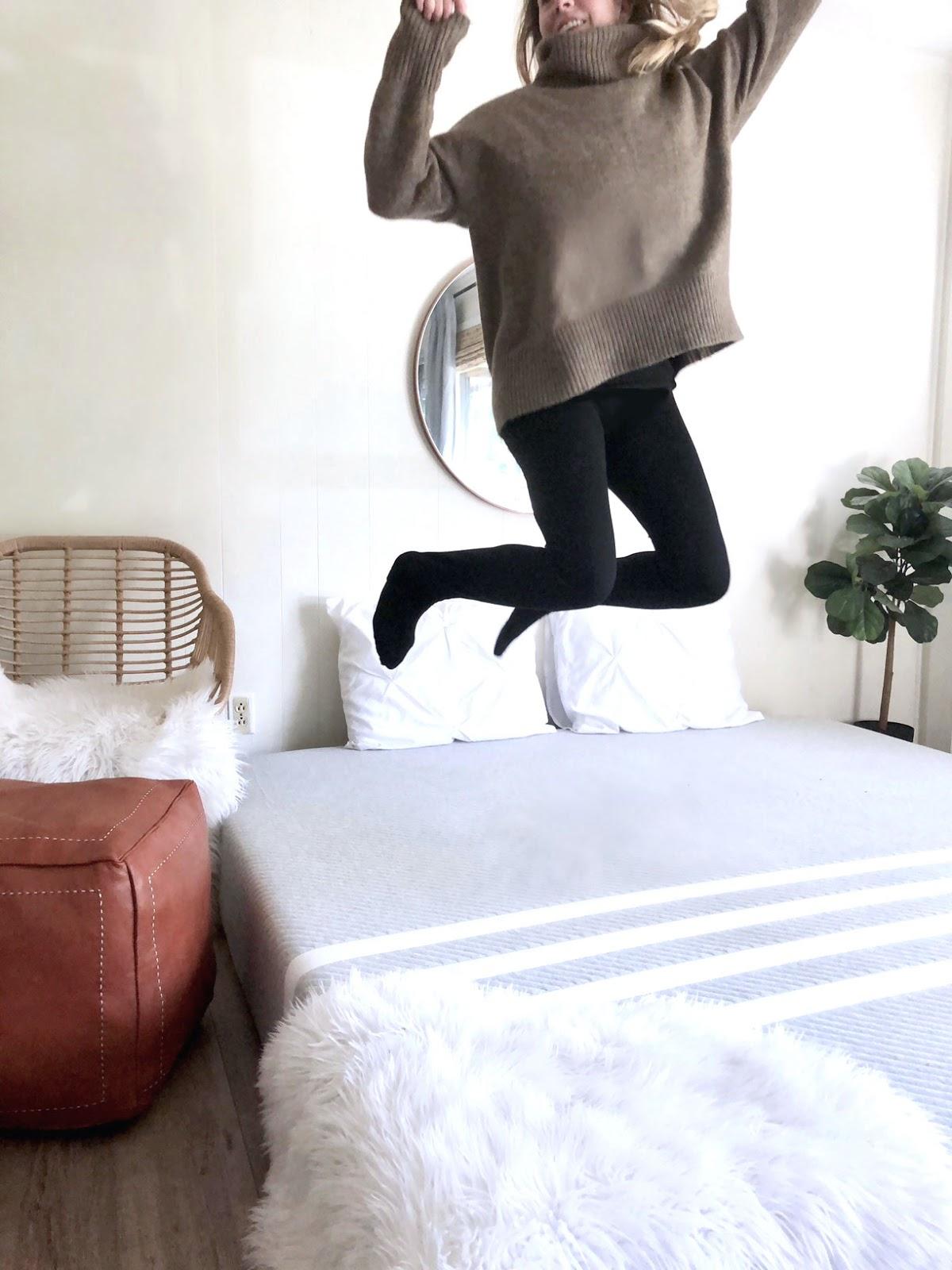 How to get better sleep leesa mattress review
