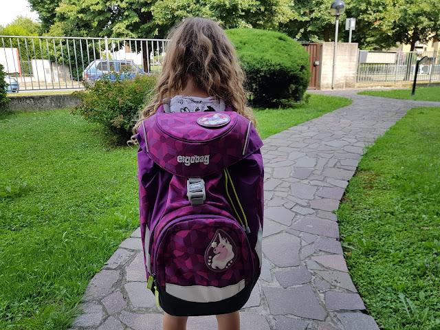 Back to school con lo zaino ergobag, amico dell'ambiente.
