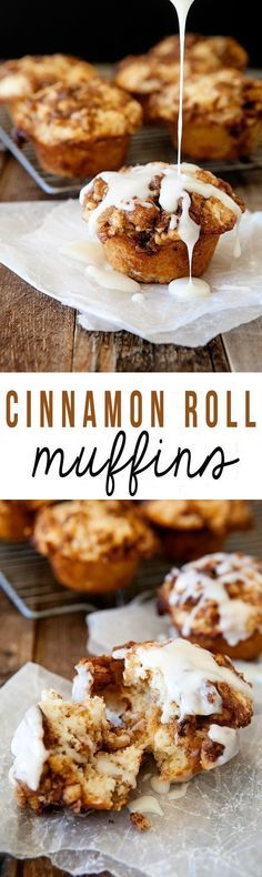 Faster and easier than Cinnamon Rolls. These Cinnamon Roll Muffins are quick to make and taste incredible!