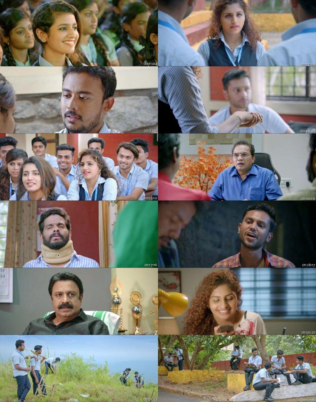 Oru Adaar Love 2019 Full Hindi Dubbed Movie Online Watch