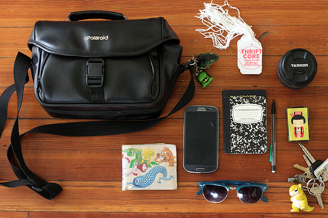 What's in a Busy Bohemian Nerd's Bag: Four Bags for Four