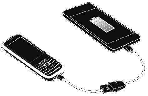 طريقة شحن هاتف باستخدام هاتف آخر