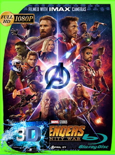 Avengers: Infinity War (2018) 3D SBS [1080p] Latino [GoogleDrive] SXGO