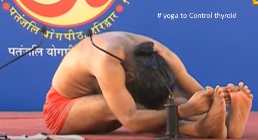 Do reverse posture yoga to Control thyroid