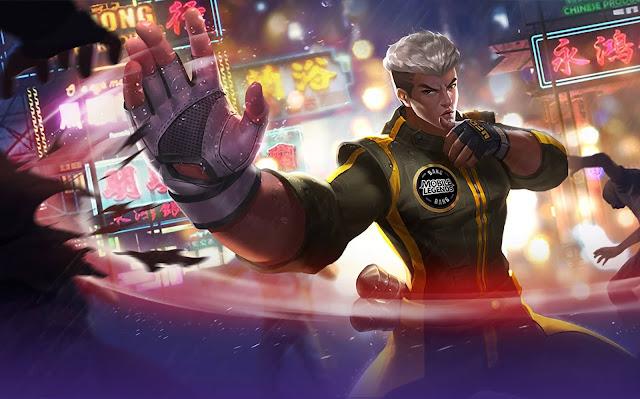 Chou Kung Fu Boy Heroes Fighter of Skins Rework Mobile Legends Wallpaper HD for PC