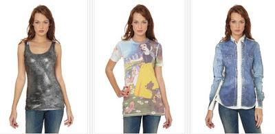 Tops mujer y camisa en oferta