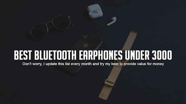 Top 10 Best Bluetooth Earphones Under 3000 In India 2020