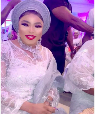 Bobrisky steals the attention of many actresses at Actress Tayo Sobola's mum burial