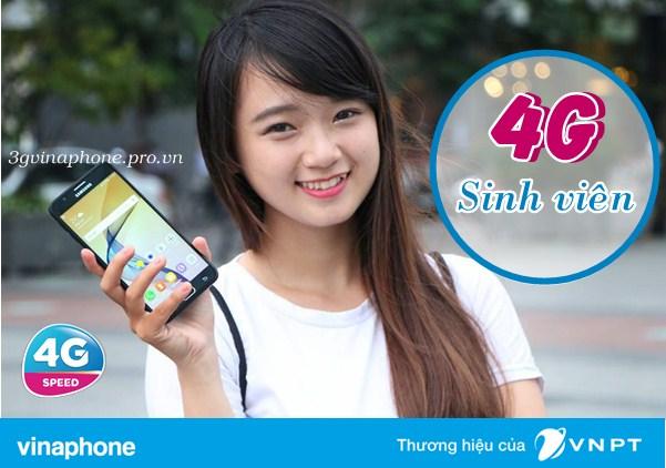 Đăng ký gói 4G cho sim sinh viên Vinaphone