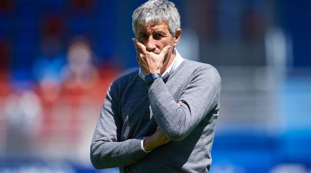تعليق ناري من المدير الفني لبرشلونة عن خسارته أمام ريال مدريد