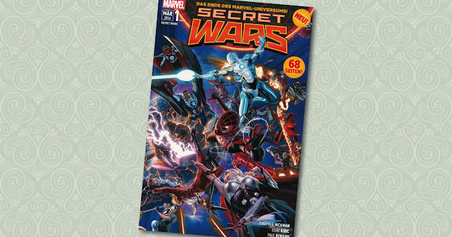 Secret Wars 1 Panini Cover
