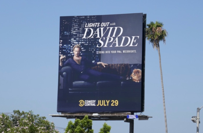 Lights Out David Spade series premiere billboard