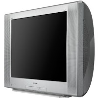 televisor crt tubo retro