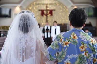 Honolulu Church Wedding