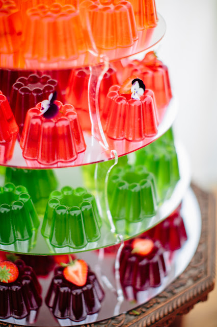 alternative wedding cakes - multicolor Jelly Cake is so tasty and delicious