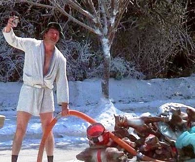 Image result for christmas vacation sewer gas