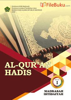 Buku Al-Quran Hadis Siswa MI Kelas 1-I Kurikulum 2013 Revisi 2020
