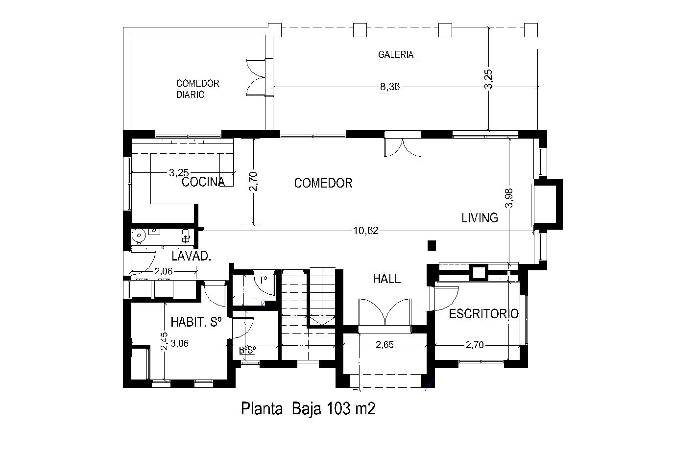 Arquitectura y dise o plano de casa de 173 m2 en dos plantas - Arquitectura y diseno de casas ...