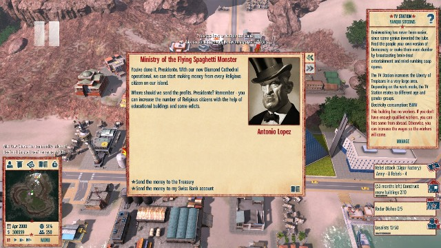Download Tropico 4 PC Games Gameplay