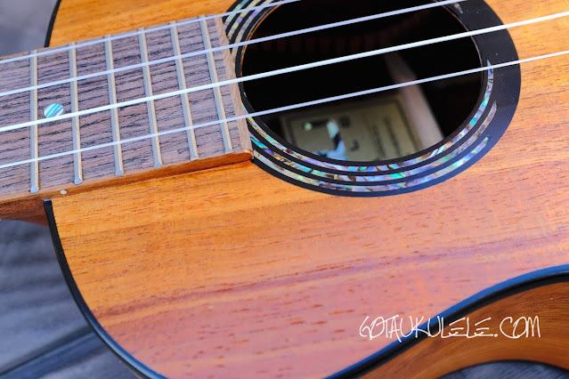Kumu 4 string tenor ukulele decor