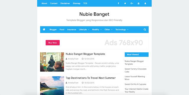Banget Blogger Teması