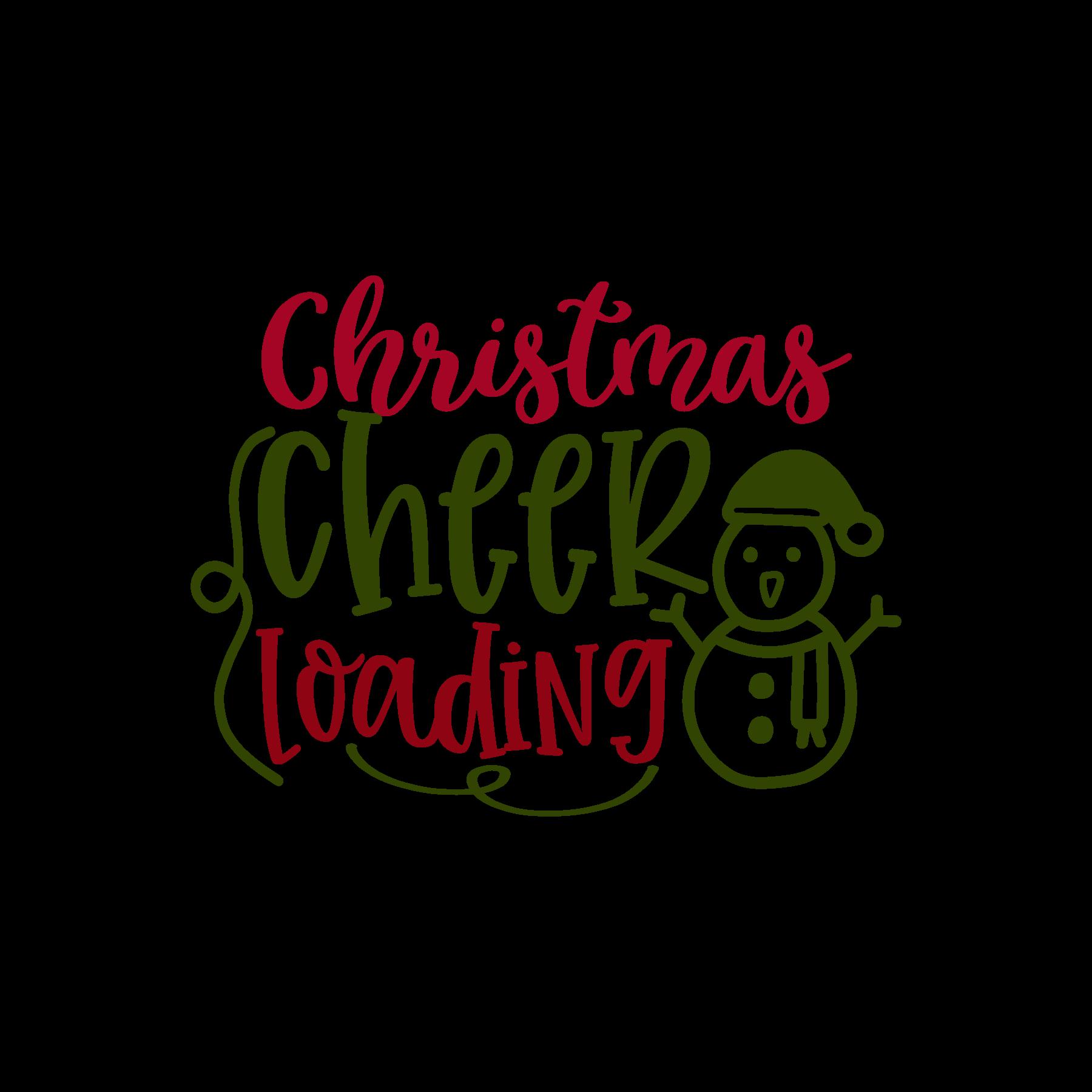Christmas Cheer Loading SVG File