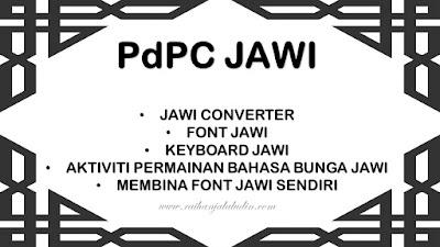 PdPC Jawi : Mengajar dan Belajar Jawi dengan Mudah