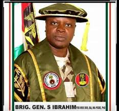 Brig  Gen. Shuaibu Ibrahim,
