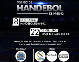 Prefeitura de Registro-SP realiza Torneio de  HANDEBOL