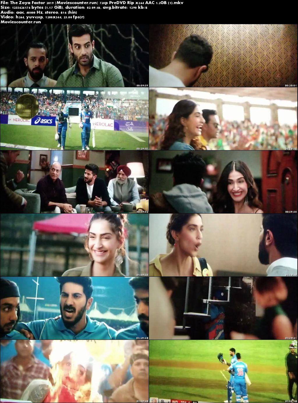 Screen Shots The Zoya Factor 2019 Hindi HD 720p