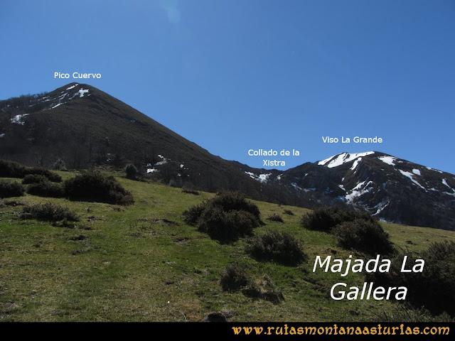 Ruta Belerda-Visu La Grande: Majada La Gallera