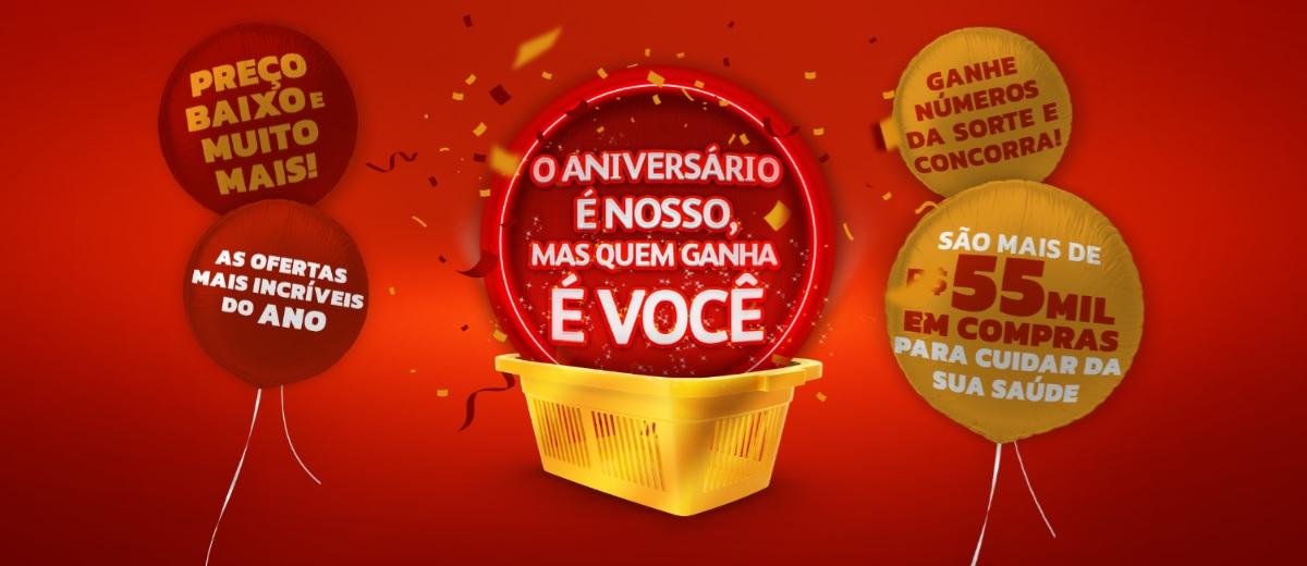 Promoção POUPAFARMA 2020 Aniversário 13 Anos - Prêmios e Ganhadores