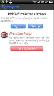تطبيق  Tigervpns VPN Client